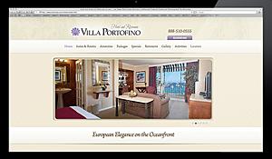 Hotel VillaPortofino Website