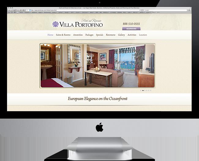 Hotel VillaPortofino Websit